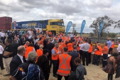 Inland Rail Sod Turning Corporate Event