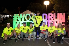 Matt Poole, Rhiannan Iffland, Jon Durand, Saya Sakakibarra, Josh Wood, Alex Pullin, Mikey Mendoza and Jordan Mercer pose for a photograph prior to the Wings for Life World Run in Melbourne, Australia on May 7, 2017. // Mark Dadswell for Wings for Life World Run // P-20170507-00490 // Usage for editorial use only // Please go to www.redbullcontentpool.com for further information. //
