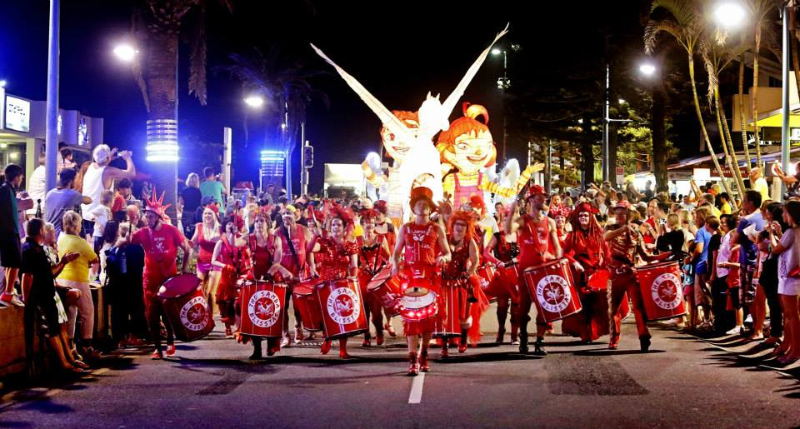 Surfers Paradise Festival Opening Ceremony – Street Parade