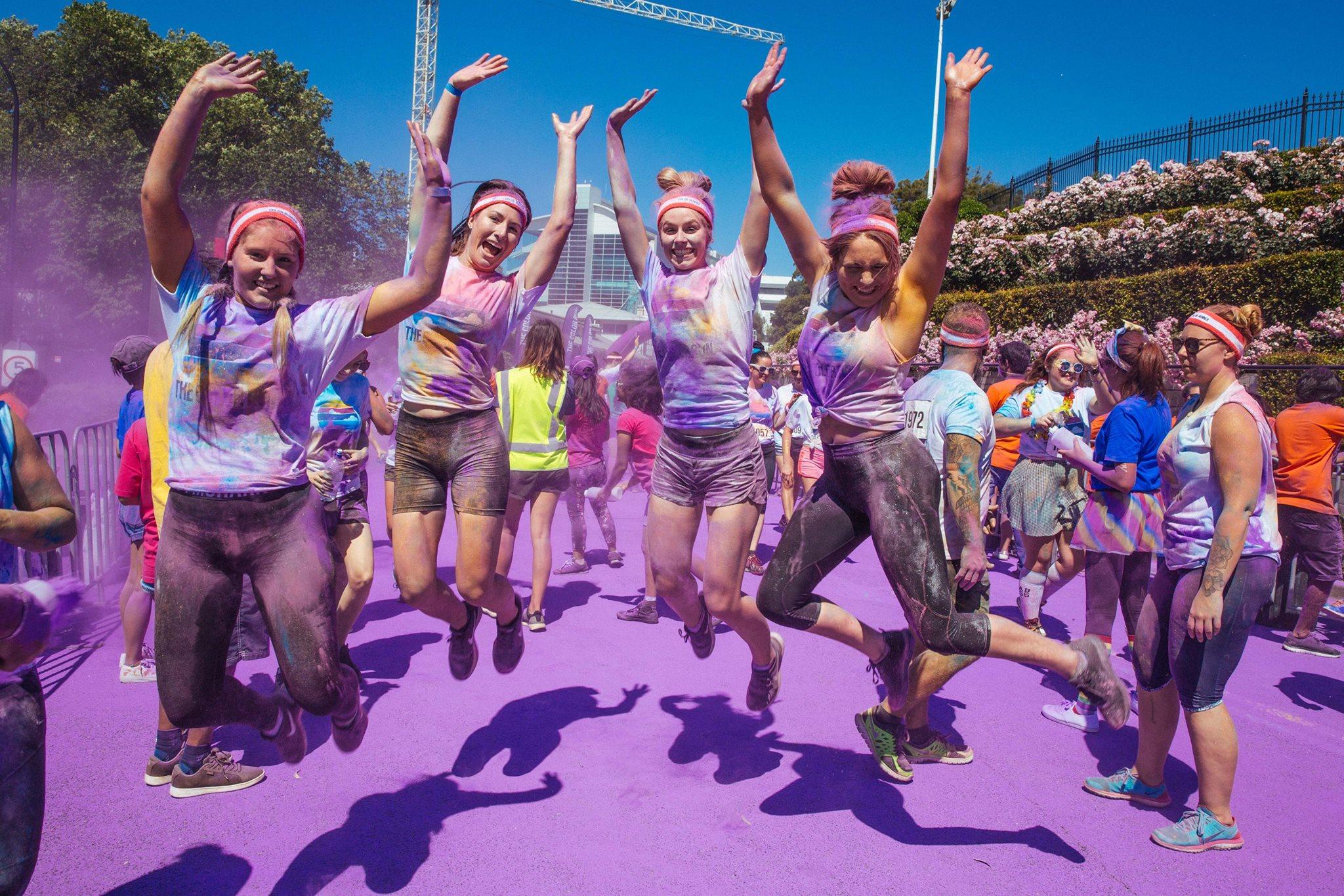 The Color Run Event – Melbourne City